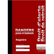 Registre des dangers graves et imminents en TRIPLICATA