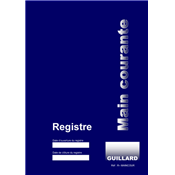 Registre main courante