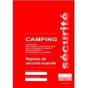 REGISTRE SECURITE CAMPING